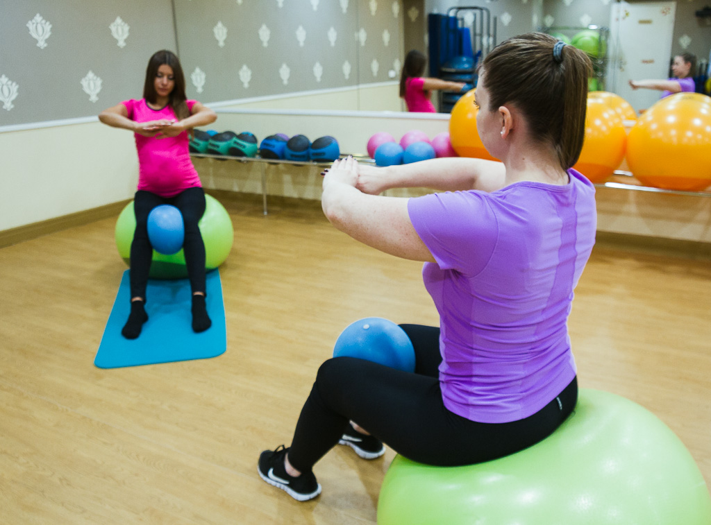 Фитнес для беременных в крылатском 65